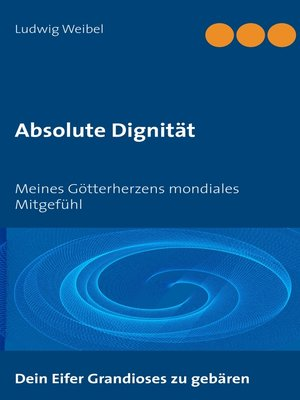 cover image of Absolute Dignität