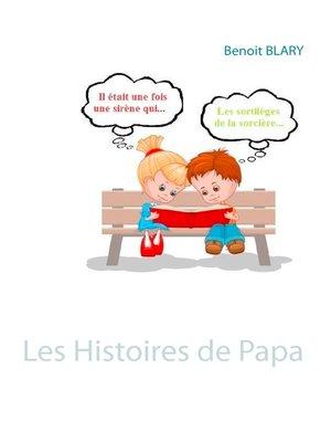 cover image of Les Histoires de Papa