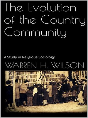 cover image of The Evolution of the Country Community