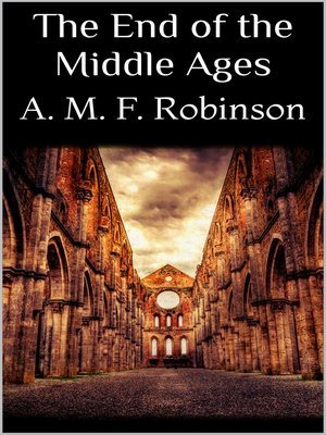 cover image of The End of the Middle Ages