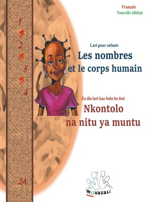 cover image of Les  nombres et le corps humain Nkontolo  na  nitu ya muntu