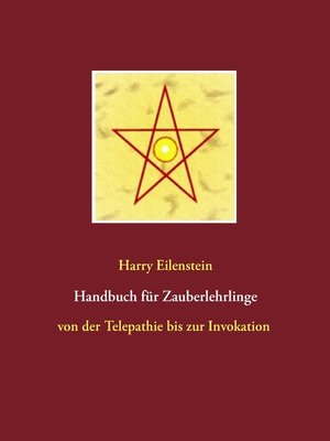 cover image of Handbuch für Zauberlehrlinge