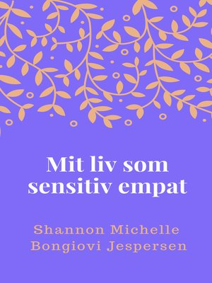 cover image of Mit liv som sensitiv empat