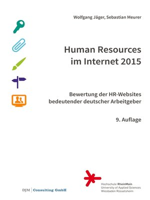 cover image of Human Resources im Internet 2015