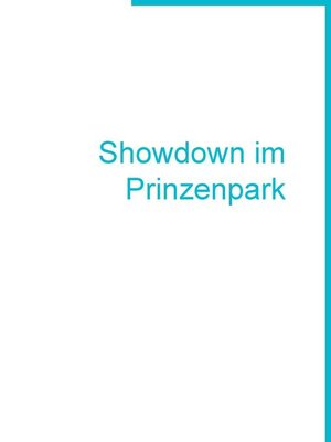 cover image of Showdown im Prinzenpark