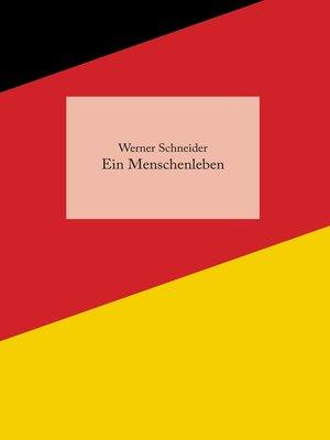 cover image of Ein Menschenleben