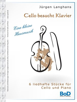 cover image of Cello besucht Klavier