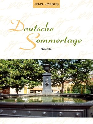 cover image of Deutsche Sommertage