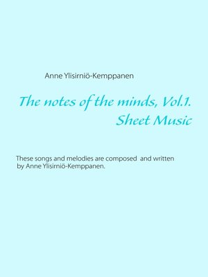 cover image of The notes of the minds, Volume 1.