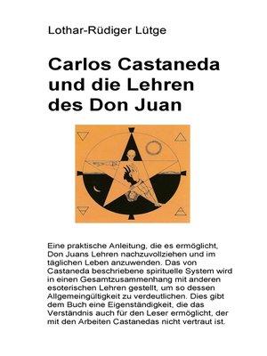 cover image of Carlos Castaneda und die Lehren des Don Juan