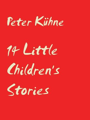 cover image of 14 Little Children's stories