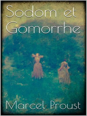 cover image of Sodom et Gomorrhe