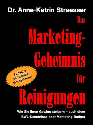 cover image of Das Marketing-Geheimnis für Reinigungen