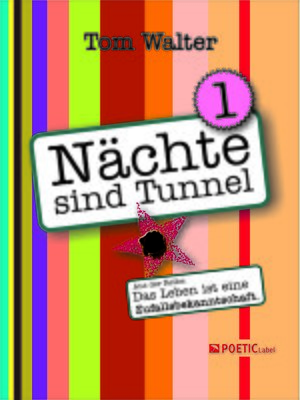 cover image of Nächte sind Tunnel