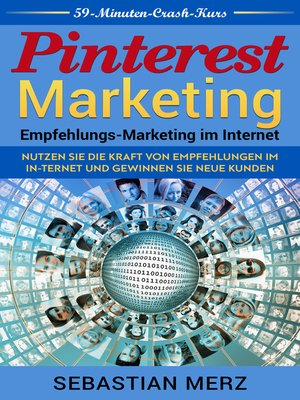 cover image of Pinterest-Marketing--Empfehlungs-Marketing im Internet