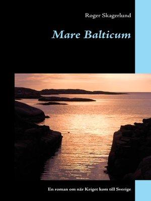 cover image of Mare Balticum