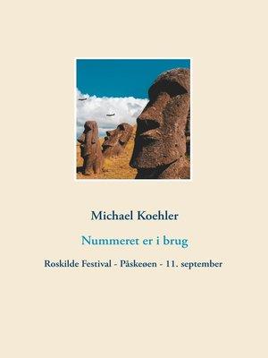 cover image of Nummeret er i brug