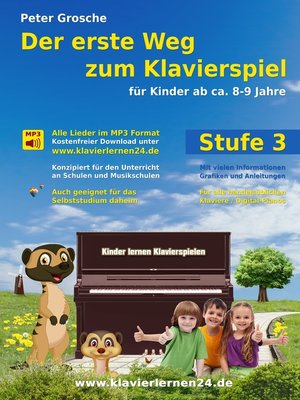 cover image of Der erste Weg zum Klavierspiel (Stufe 3)