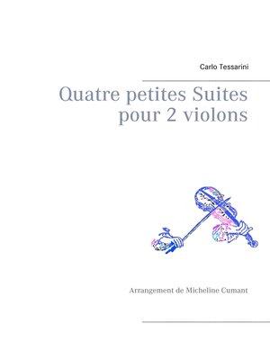 cover image of Quatre petites Suites pour 2 violons