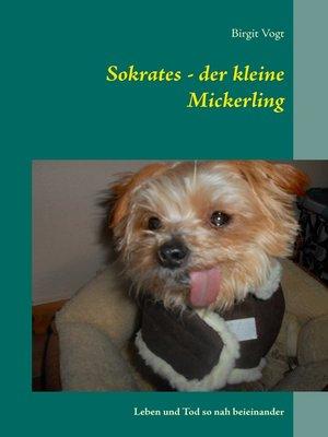cover image of Sokrates--der kleine Mickerling
