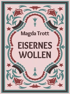 cover image of Eisernes Wollen