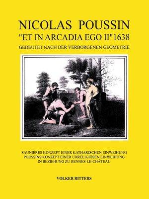 "cover image of Nicolas Poussin ""et in arcadia ego II"" 1638"