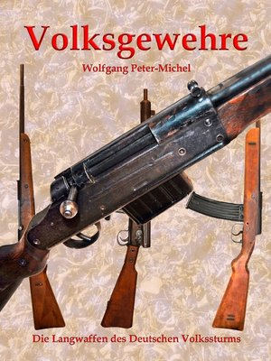 cover image of Volksgewehre