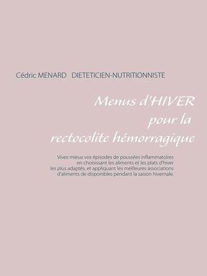 cover image of Menus d'hiver pour la rectocolite hémorragique