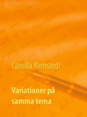cover image of Variationer på samma tema