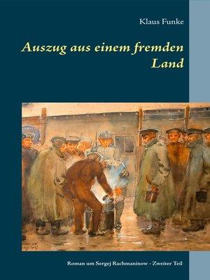 cover image of Auszug aus einem fremden Land