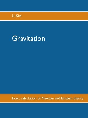 cover image of Gravitation