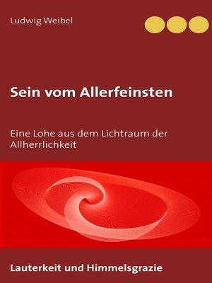 cover image of Sein vom Allerfeinsten