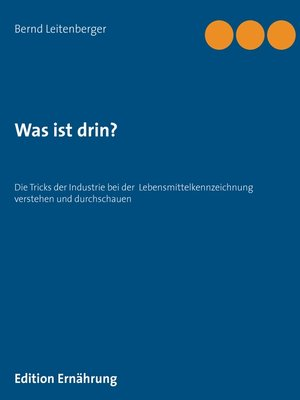 cover image of Was ist drin?