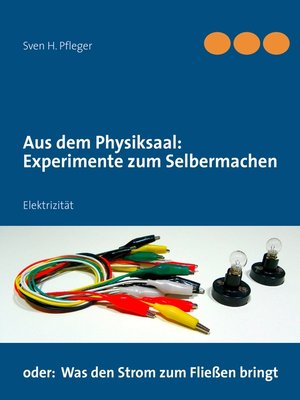 cover image of Aus dem Physiksaal--Experimente zum Selbermachen