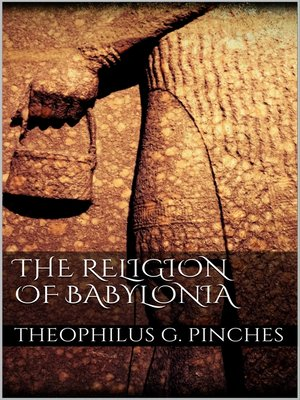cover image of The Religion of Babylonia
