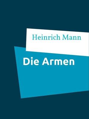 cover image of Die Armen
