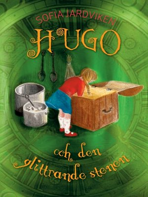 cover image of Hugo och den glittrande stenen