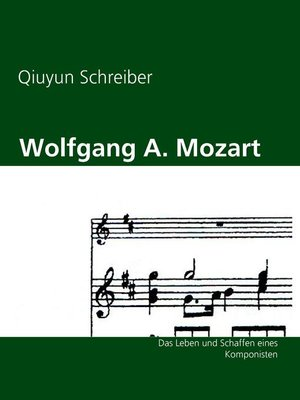 cover image of Wolfgang A. Mozart