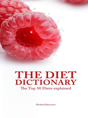 cover image of The Diet Dictionary