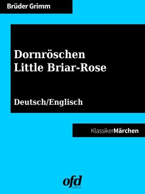 cover image of Dornröschen--Little Briar-Rose