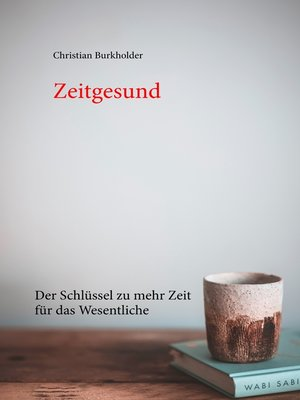 cover image of Zeitgesund