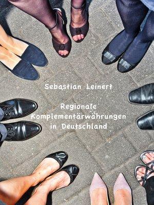 cover image of Regionale Komplementärwährungen in Deutschland