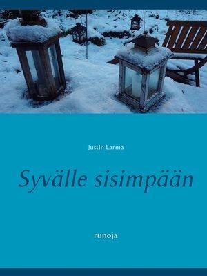 cover image of Syvälle sisimpään