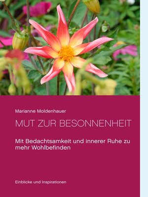 cover image of Mut zur Besonnenheit