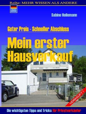 cover image of Mein erster Hausverkauf
