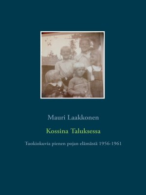 cover image of Kossina Taluksessa