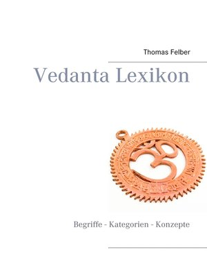 cover image of Vedanta Lexikon