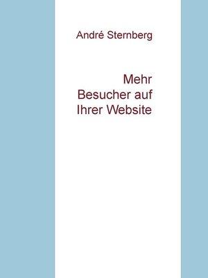 cover image of Mehr Besucher auf Ihrer Website