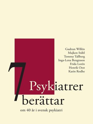 cover image of 7 Psykiatrer berättar