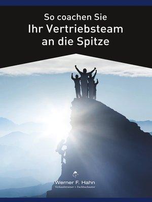 cover image of So coachen Sie Ihr Vertriebsteam an die Spitze